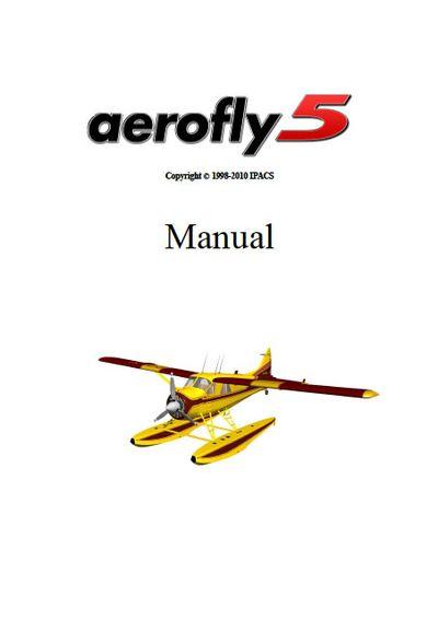 Aerofly5 manual