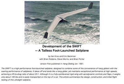Development of the SWIFT