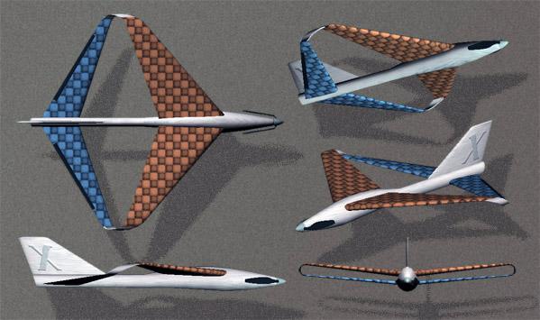 A3293101-114-X1- diamond wing