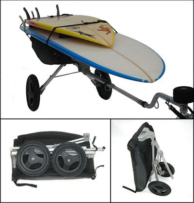 Bike Surfboard Trailer