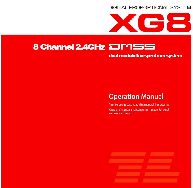 XG8 Manual