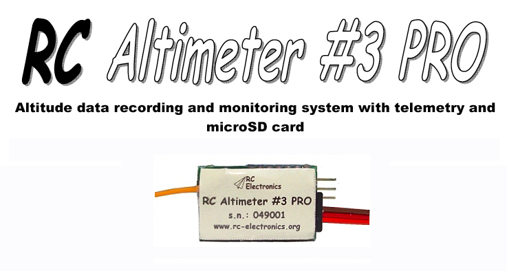 RC Altimeter #3 PRO