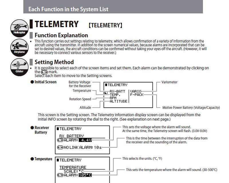 JR XG8 Manual TELE