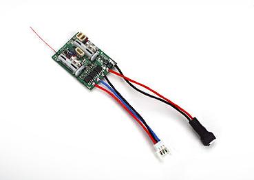 AR6400LBL DSM2 6Ch Ultra Micro Receiver BL-ESC [SPMAR6400LBL]