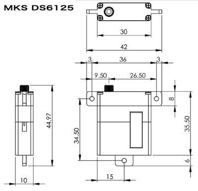 MKS DS6125