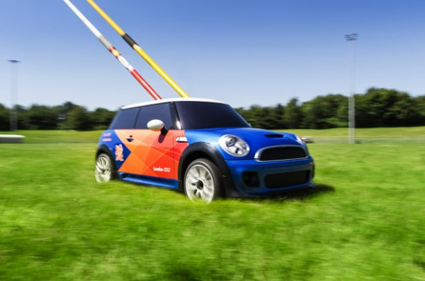 Mini Cooper Olympic R:C Car