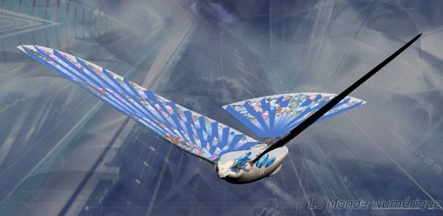 Avitron oiseau bionique