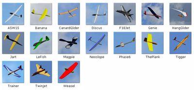 PicaSim Planes